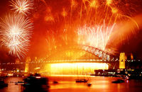 FW109 Fireworks, Sydney Harbour, New Years Eve
