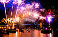 FW110 Fireworks, Sydney Harbour, New Years Eve
